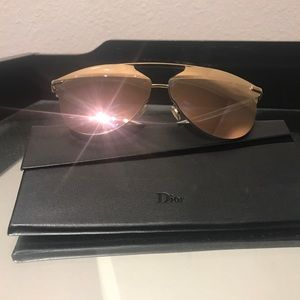 Authentic Christian Dior Reflected sunglasses.